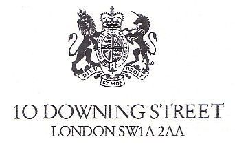 downing st letter head