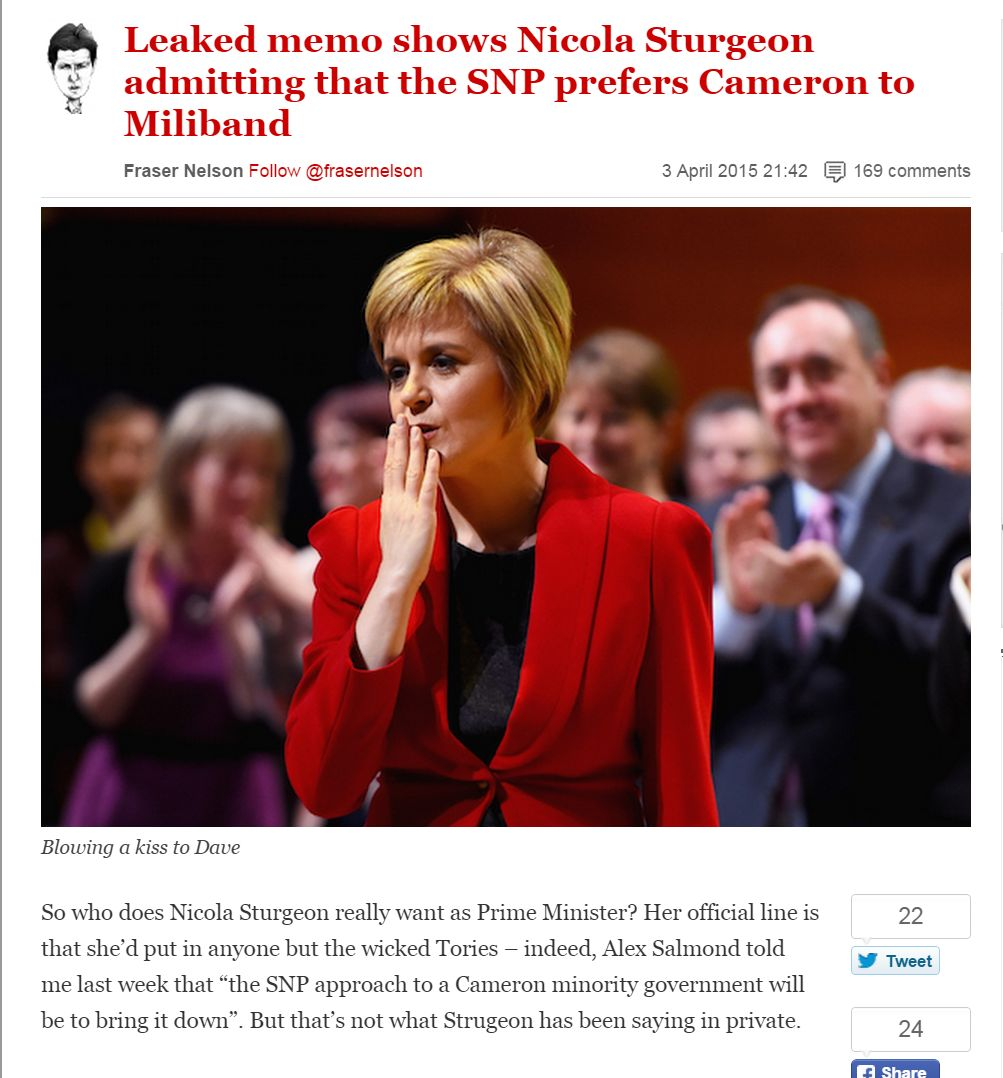 fraser nelson sturgeon wants cameron